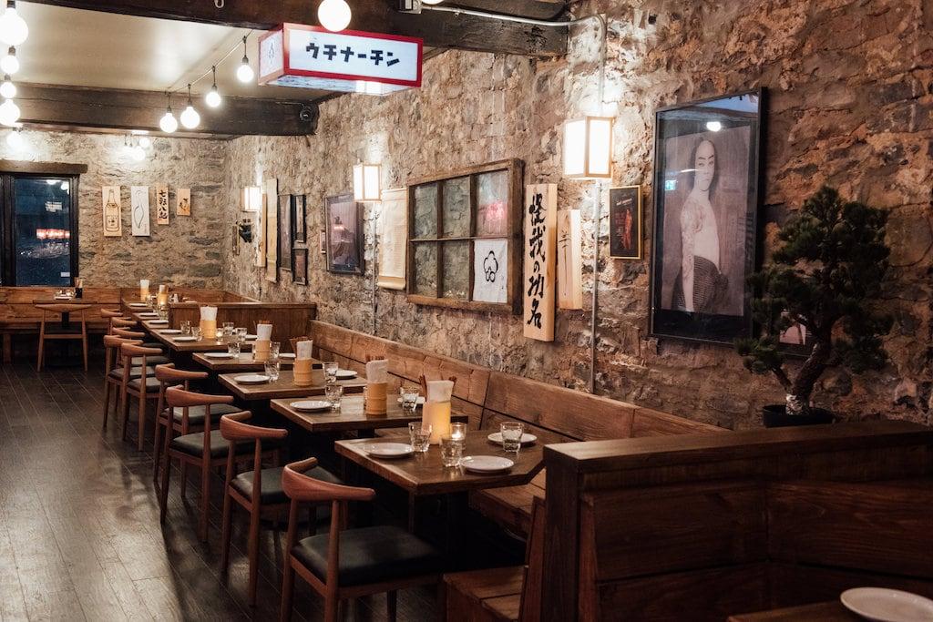 hanzo izakaya vieux port old port restaurant montreal