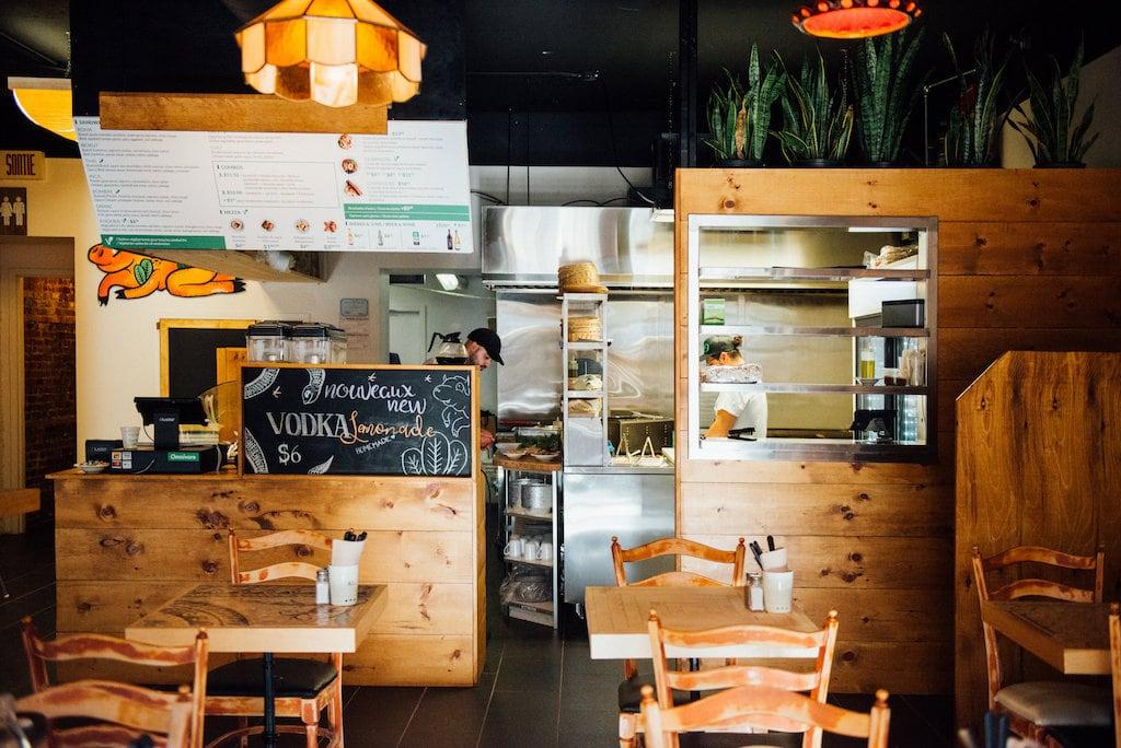 omnivore Lebanese restaurant libanais saint denis montreal