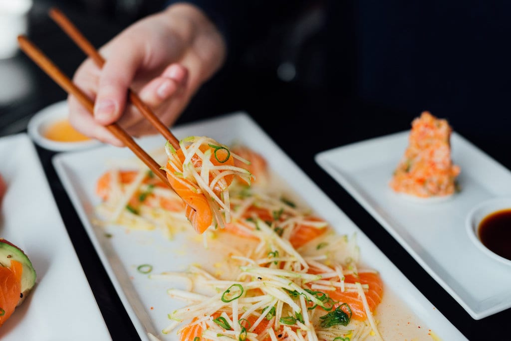 Saint Sushi westmount restaurant avenue greene