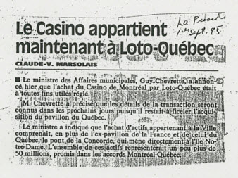 casino de montreal 25ieme anniversaire fun facts
