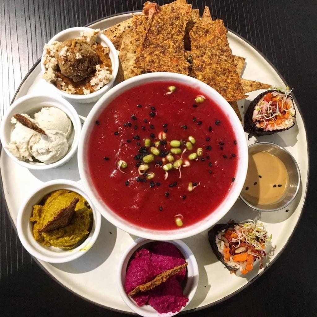 Ness healthy restaurant santé st Roch Québec