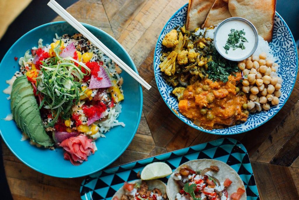 Restaurants santé ouverts pour take-out