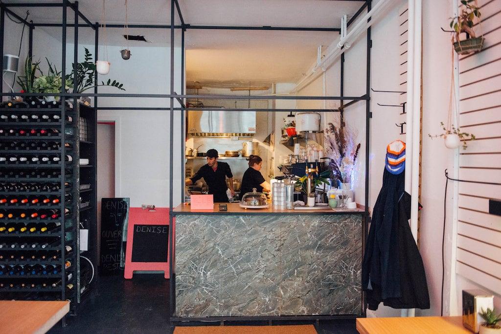 Denise bar resto parc extension