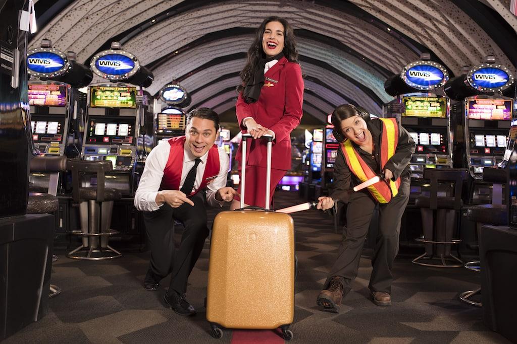 embarquement immédiat immediate boarding Casino Montréal Charlevoix Lac Leamy Mont Tremblant