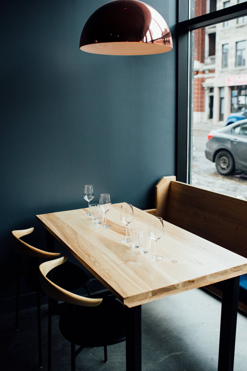 Le Flamant restaurant Ontario Est Hochelaga Montreal