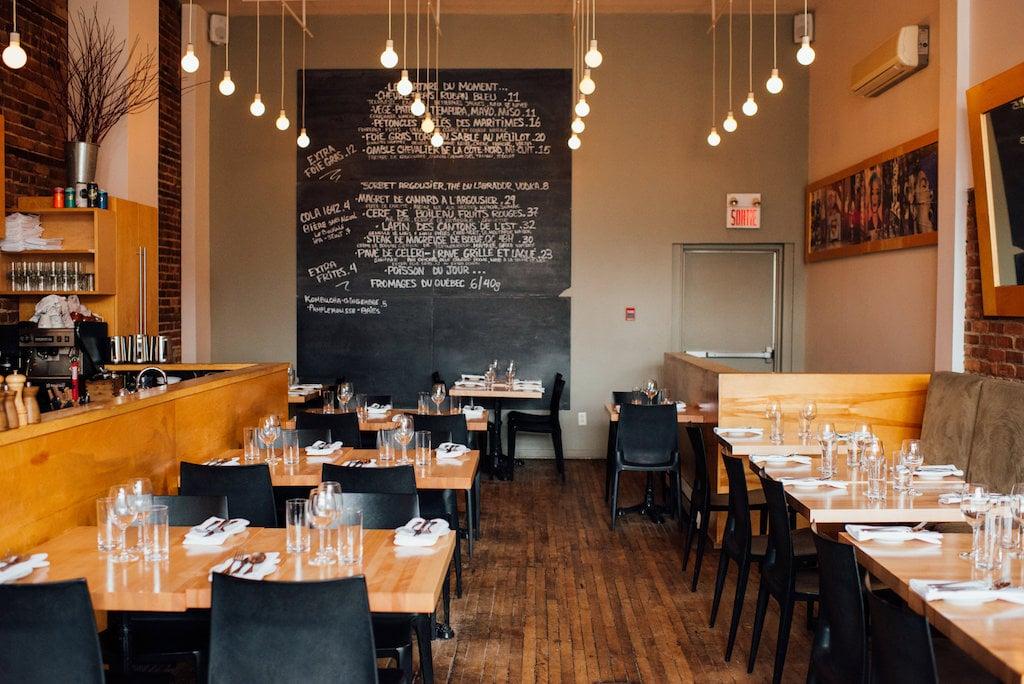 Ô Thym restaurant AVV Village Montréal