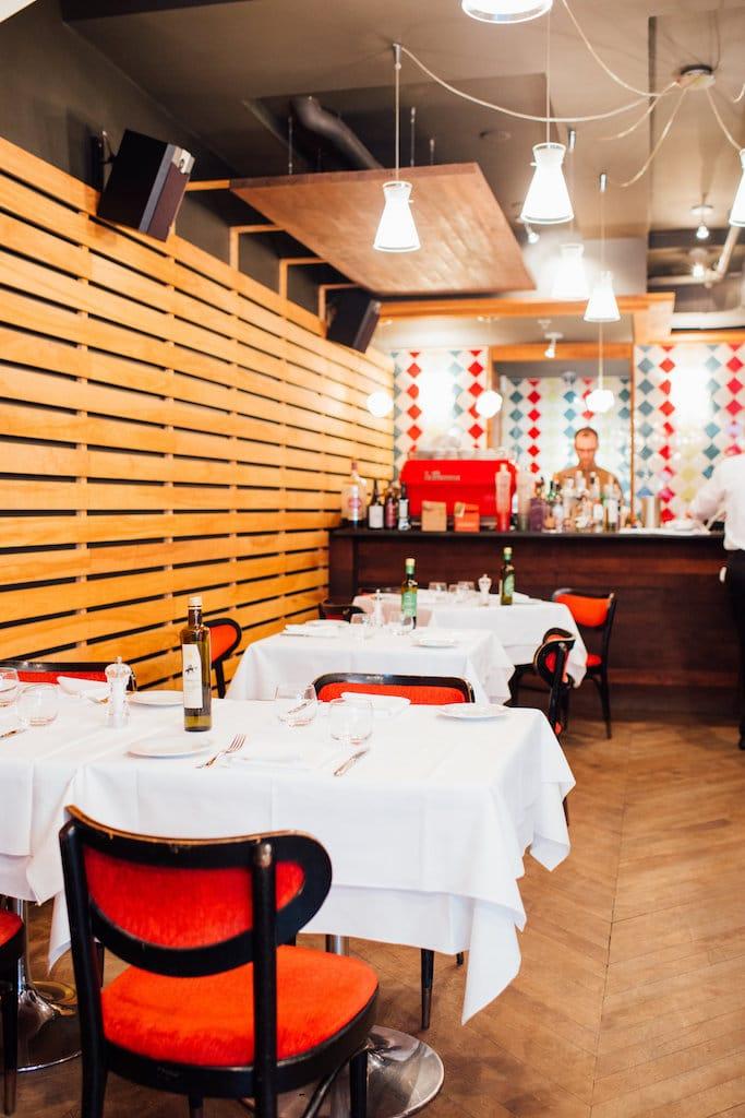Il Pagliaccio laurier restaurant italien