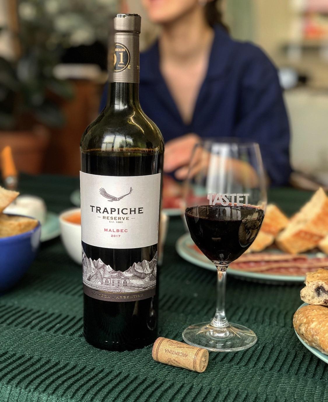 trapiche vins publicité