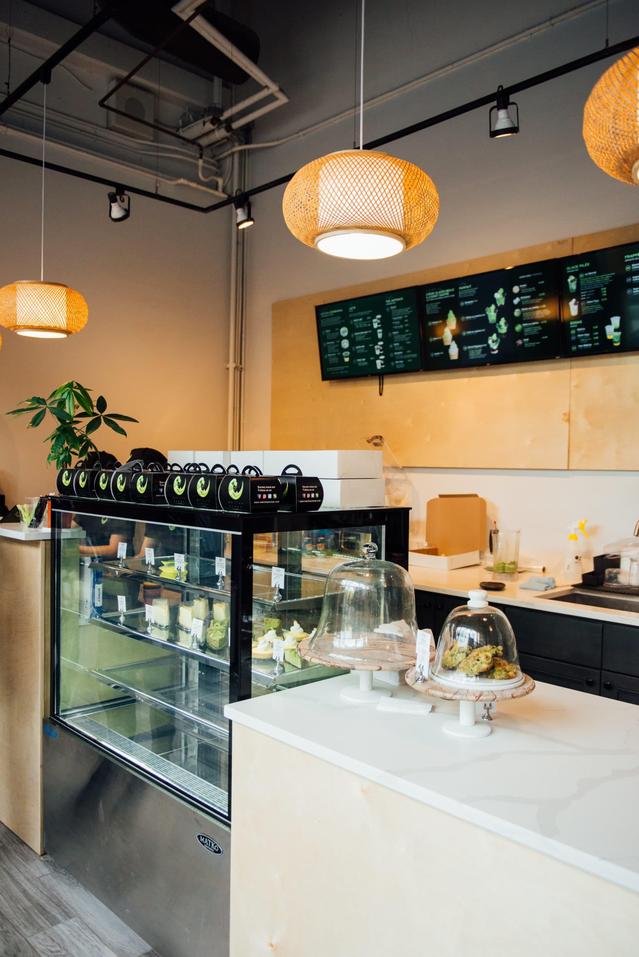 Matcha Zanmai centre ville café