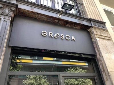 Gresca restaurant barcelone