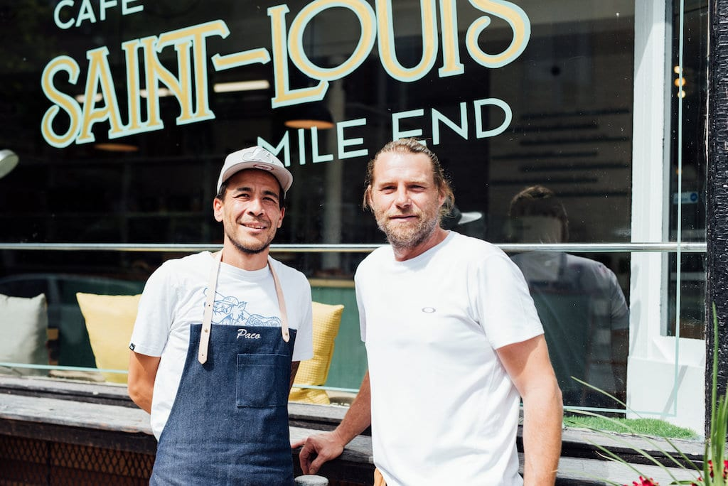 Saint Louis Café Mile End Montréal