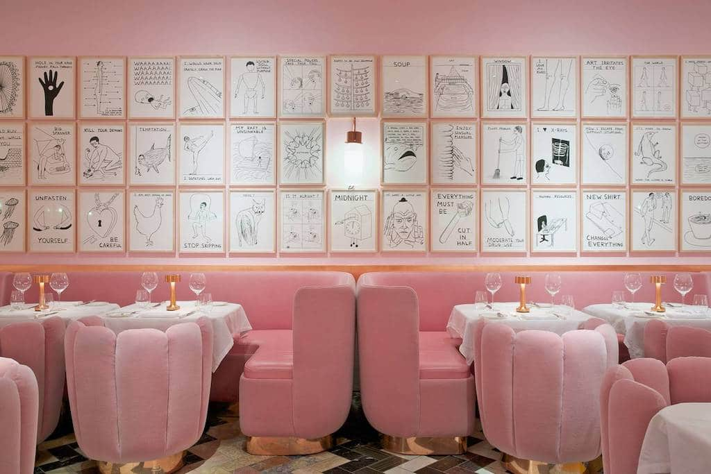 London restaurants Londres