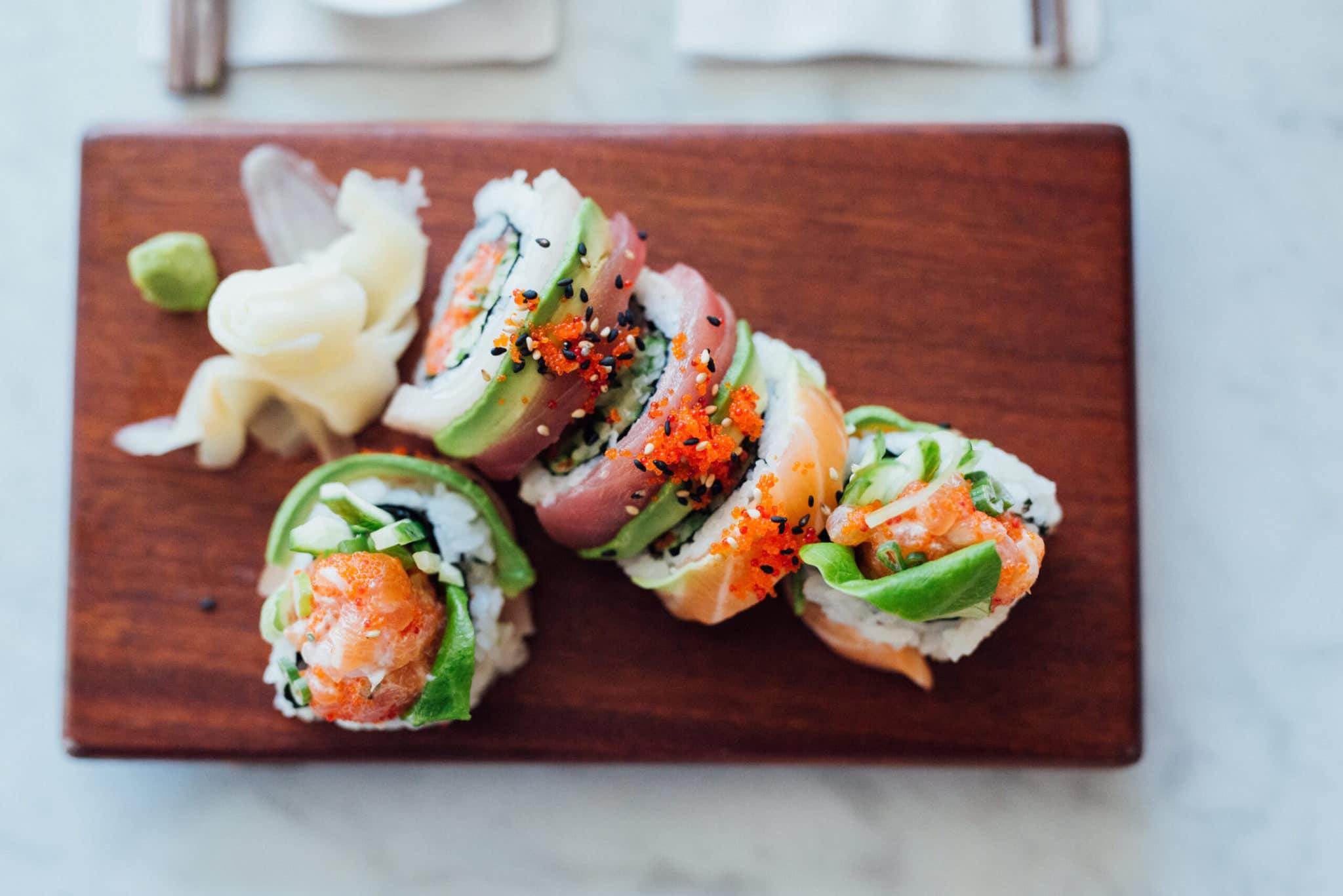 Où commander des sushis à emporter ou en livraison - COVID-9