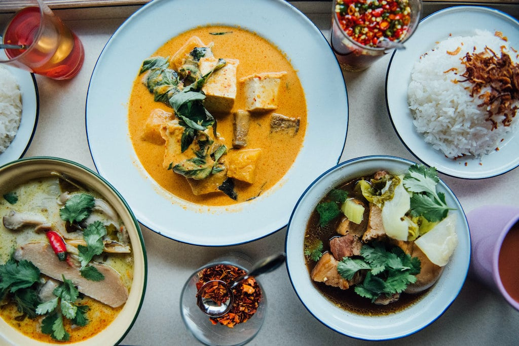 menu take out asiatique