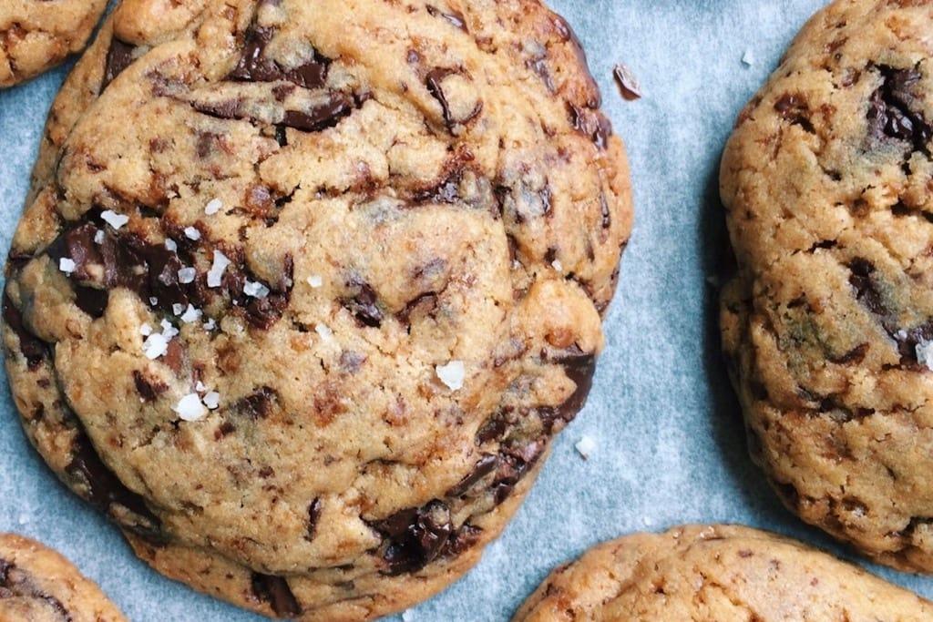 recette clément Tilly biscuits chocolat fleur de sel
