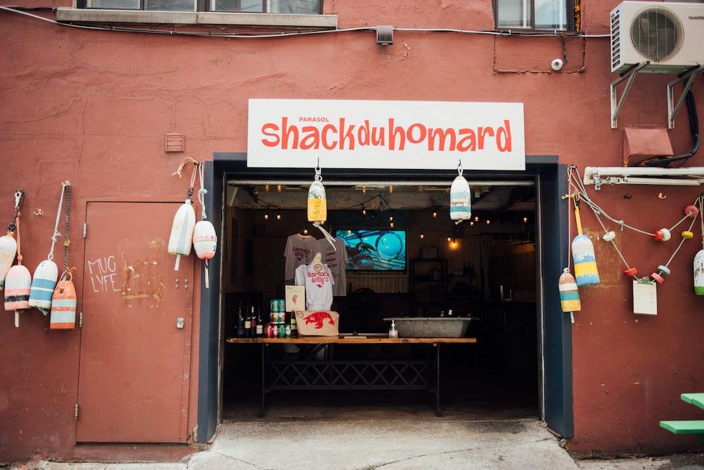 parasol cabane à homard lobster shack