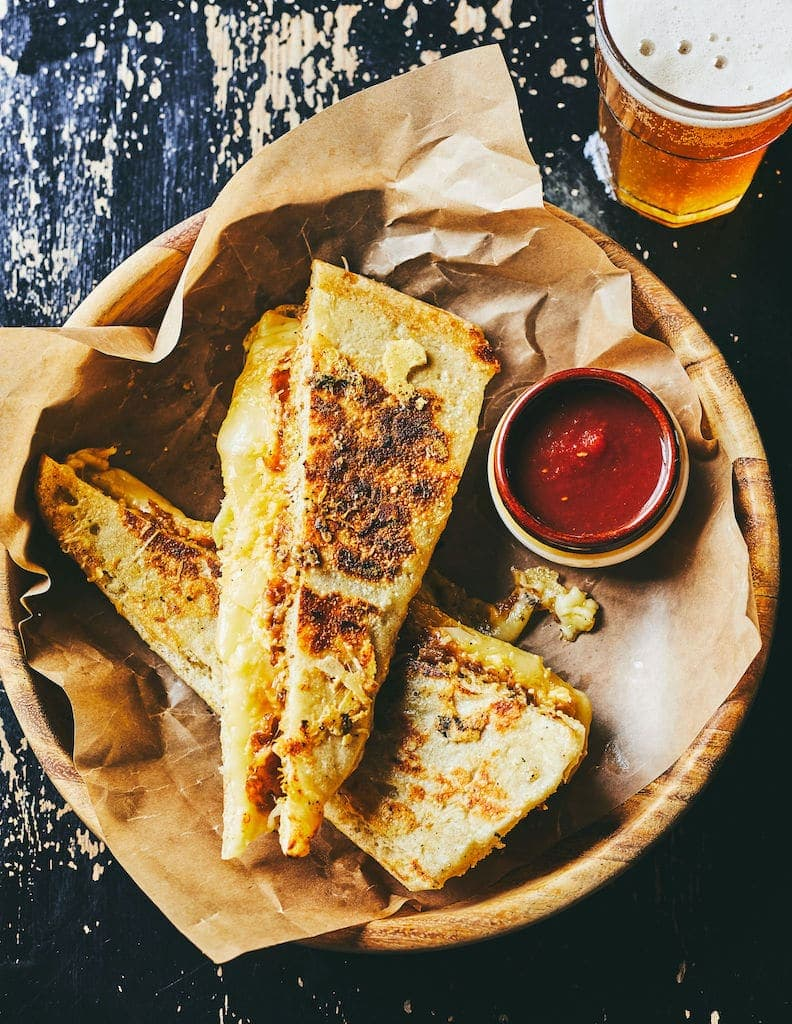 Recette grilled cheese olive et gourmando