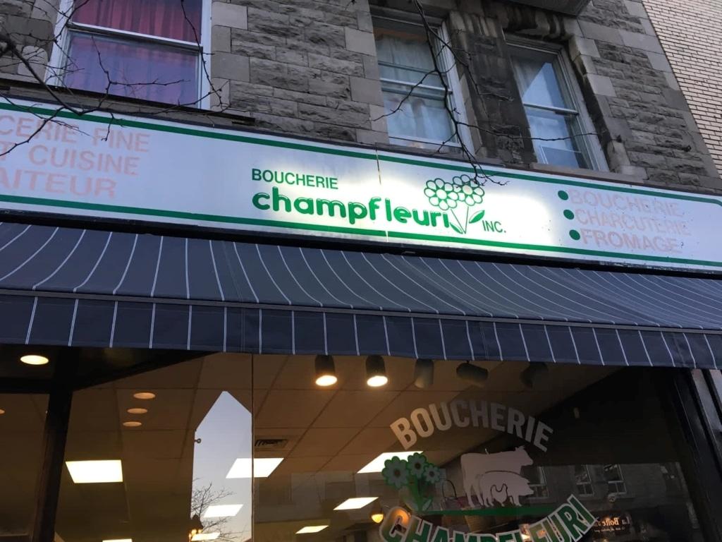 Boucherie Champfleuri