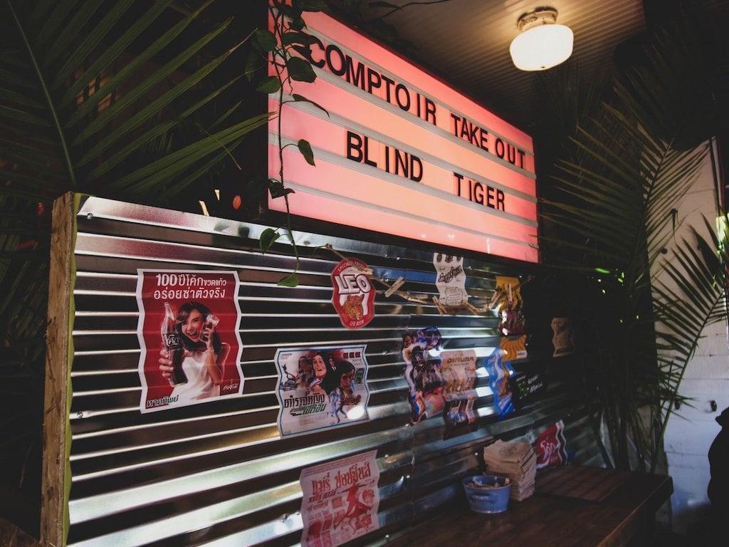 Le Blind Tiger