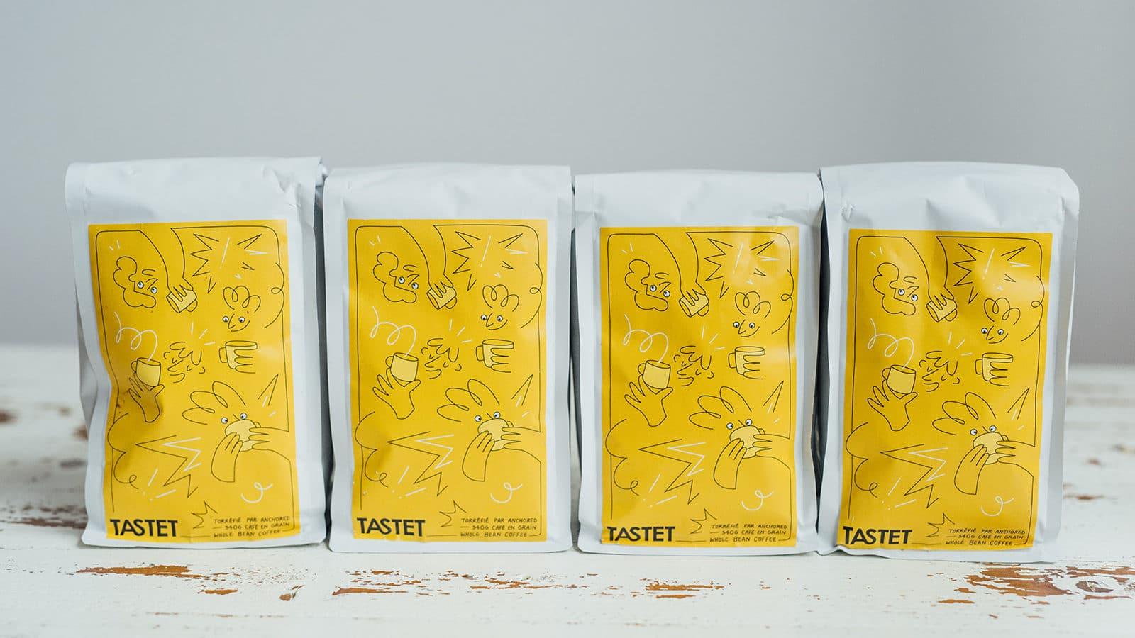 Café tastet anchored coffee