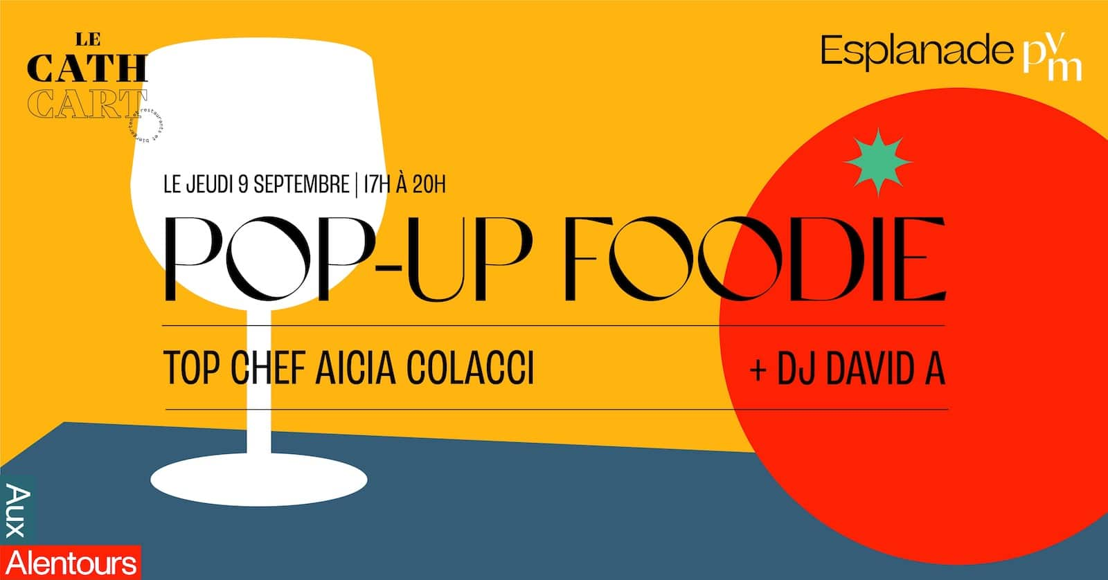 pop up foodie Alicia colacci