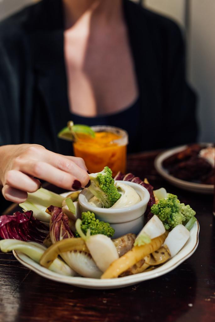 bar à flot food vegetables