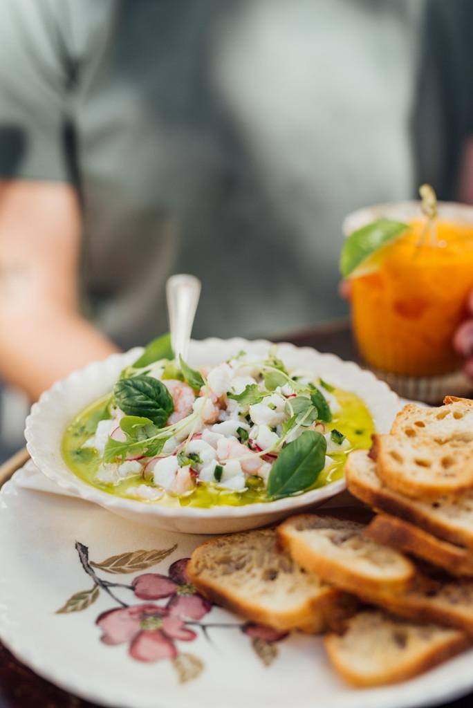 bar à flot food halibut