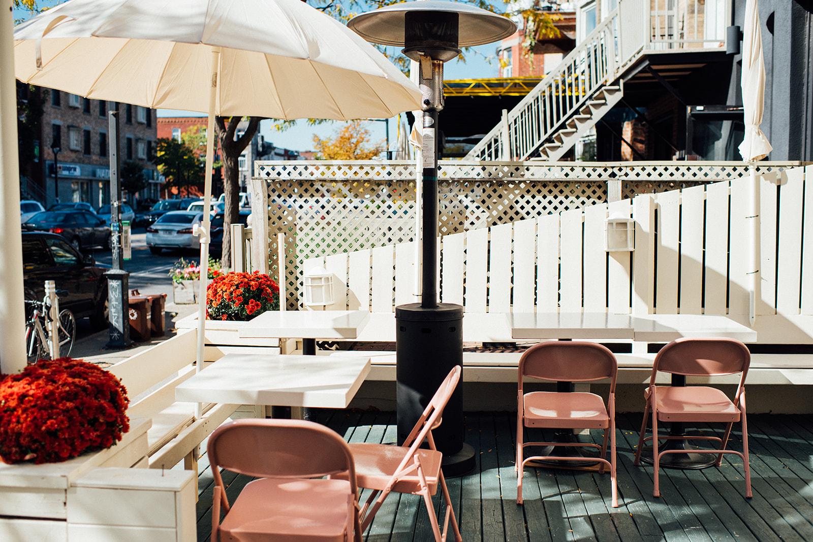 bar à flot terrace